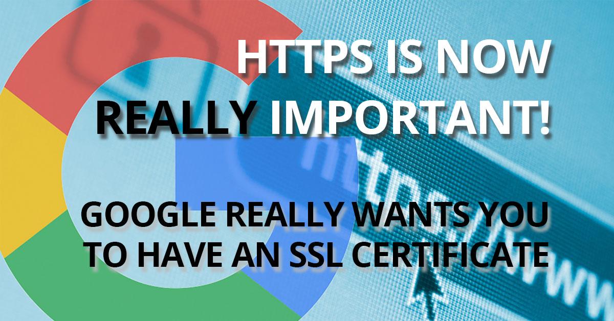 Google Chrome To Label Non-SSL Websites NOT SECURE