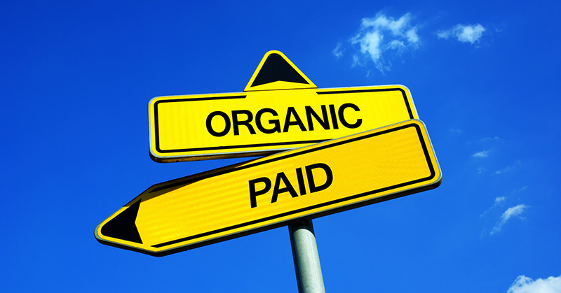 Organic Vs Paid Search- What Is the Difference Between the Two?